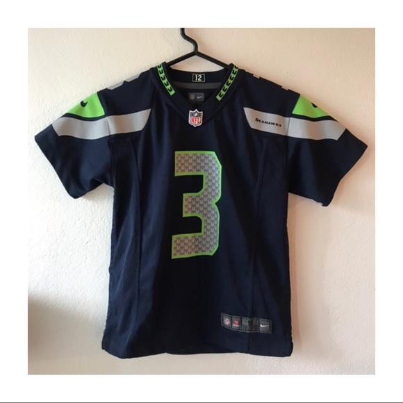 NFL Other - Seattle Seahawks Youth Small Russell Wilson Jersey